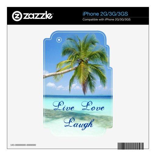 Piel de la playa (iPhone 2g, 3g, 3gs) iPhone 2G Calcomanía