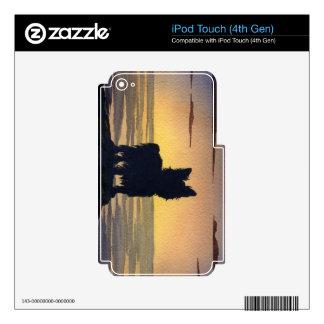 Piel de la protección del dispositivo del vinilo iPod touch 4G calcomanías
