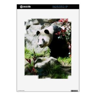 Piel de la sonrisa de la panda iPad 2 skin