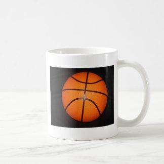 Piel de la textura del primer del baloncesto taza clásica