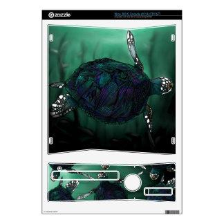 Piel de la tortuga de mar Xbox360 Consola Xbox 360 S Calcomanía