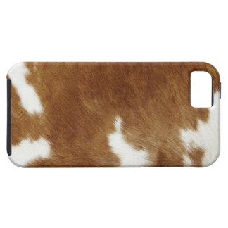 Piel de la vaca iPhone 5 cárcasas