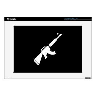 Piel de Latop del pictograma de AK-47 Calcomanías Para Portátiles