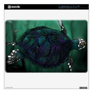 Piel de MacBook de la tortuga de mar MacBook Skins