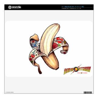 Piel de MacBook del plátano de Hannah Skins Para elMacBook