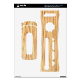 Piel de madera de Xbox 360 del grano
