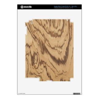 Piel de madera del iPad 3 de la cebra por LibertyM Pegatina Skin Para iPad 3