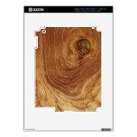Piel de madera del iPad de la naturaleza de madera Pegatinas Skins Para iPad 3