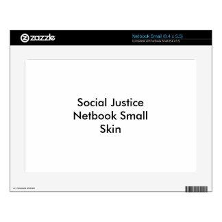 Piel de Netbook de la justicia social pequeña Netbook Pequeño Calcomanía