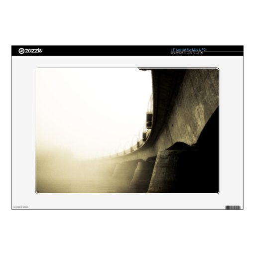 Piel de niebla de Zazzle del rastro 11 de la costa Portátil Skins