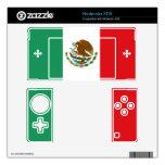 Piel de Nintendo 3DS de la bandera mexicana 3DS Calcomanía