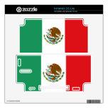 Piel de Nintendo DS Lite de la bandera mexicana Skin Para El DS Lite