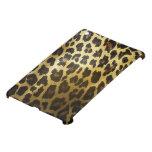 Piel de oro brillante del leopardo iPad mini protector