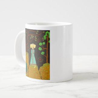 Piel de oro taza de café grande