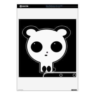 Piel de Playstation del arte del oso de panda Skins Para elPS3 Slim