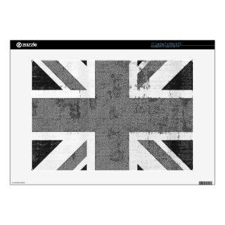 Piel de Reino Unido de la bandera del vintage para Portátil Skin