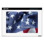 Piel de Samsung Chromebook de la bandera americana Samsung Chromebook Skin