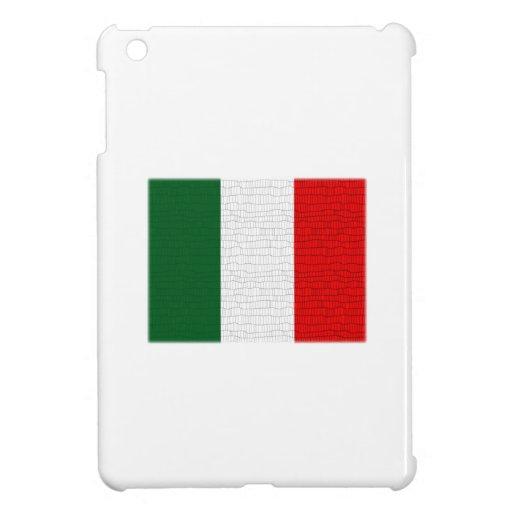 Piel de serpiente de la bandera de Italia