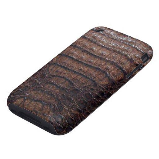 Piel de serpiente exótica 2c iPhone 3 tough fundas