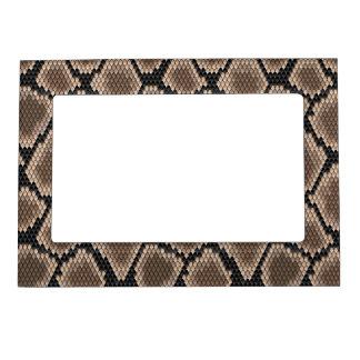 Piel de serpiente marcos magnéticos de fotos