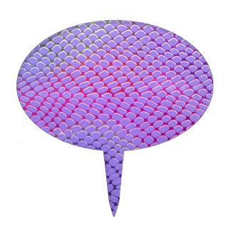 Piel de serpiente púrpura figura de tarta