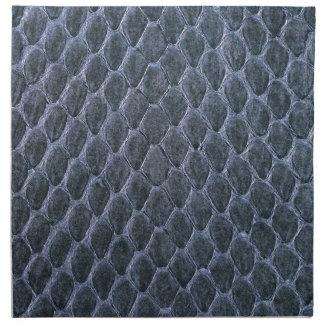 piel de serpiente servilletas imprimidas