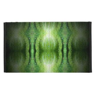 Piel de serpiente verde oscuro