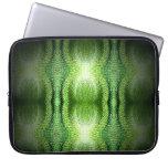 Piel de serpiente verde oscuro mangas computadora