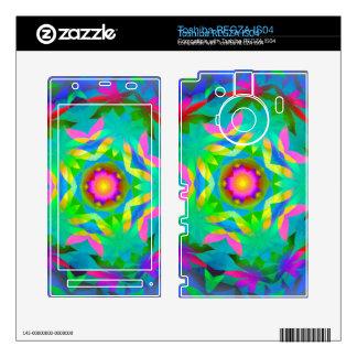 Piel de Toshiba Regza de la explosión de Sun del a Toshiba REGZA Skin