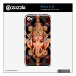 Piel de Zazzle de la mandala de Ganesh Calcomanías Para El iPhone 4