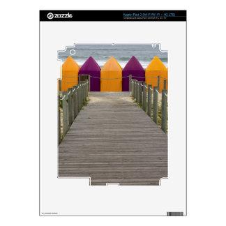 Piel de Zazzle de las tiendas de la playa iPad 3 Skins