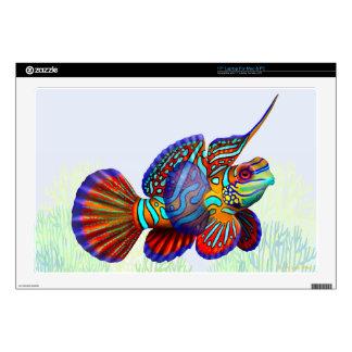 Piel de Zazzle de los pescados del gobio de Dragon Skins Para Portátiles