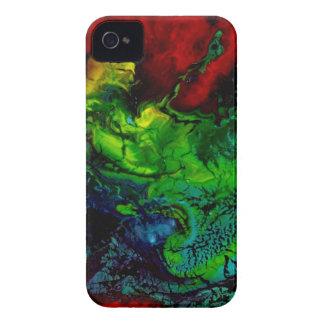Piel del ARTE abstracto/caso - arte de Anderson Case-Mate iPhone 4 Protectores