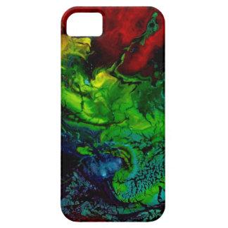 Piel del ARTE abstracto/caso - arte de Anderson iPhone 5 Carcasas
