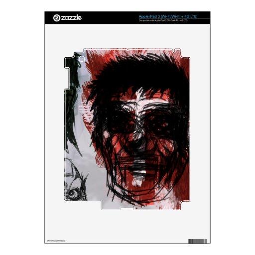 Piel del arte iPad 3 skin