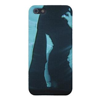 Piel del bailarín de la sombra iPhone 5 carcasa