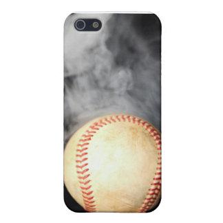 Piel del béisbol iPhone 5 carcasas