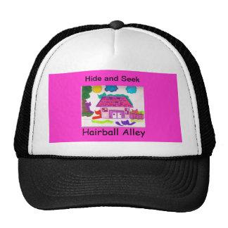 Piel del callejón del Hairball y casquillo de la b Gorras