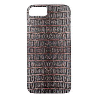 Piel del cocodrilo del vintage funda iPhone 7