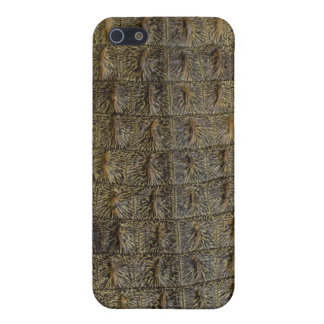 Piel del cocodrilo iPhone 5 funda