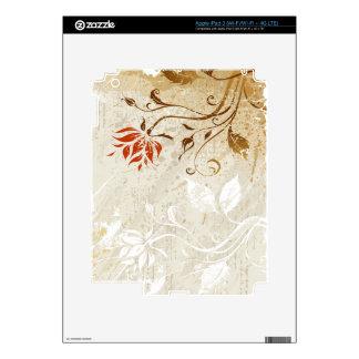 Piel del cojín del arte abstracto 50 i iPad 3 pegatinas skins