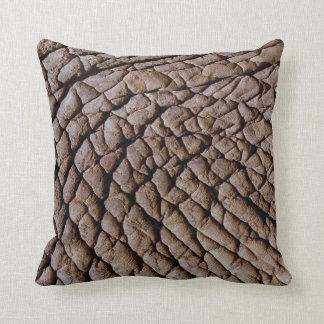 Piel del elefante almohada