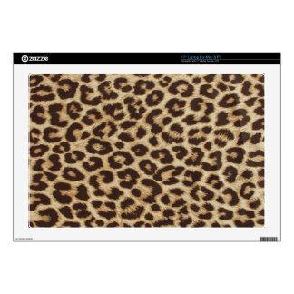 Piel del estampado leopardo portátil 43,2cm skin