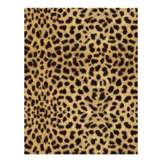 Piel del guepardo plantillas de membrete