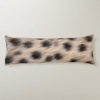 piel del guepardo o plantilla manchada negro de la