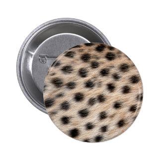 piel del guepardo o plantilla manchada negro de la pins