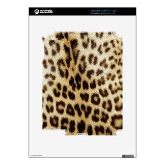 Piel del iPad 2 del leopardo Calcomanías Para iPad 2