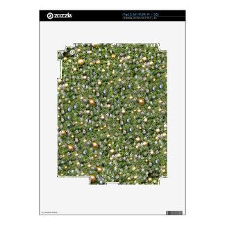 Piel del iPad 2 del vintage del navidad Skin Para El iPad 2