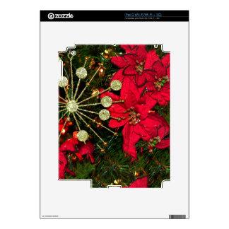 Piel del iPad 2 del vintage del navidad iPad 2 Skins