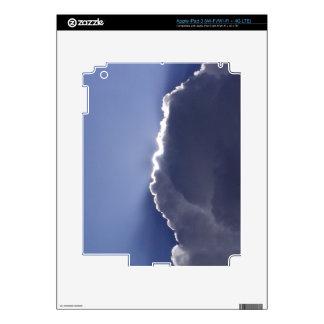 piel del iPad 3 con la foto de la nube con el lado Pegatinas Skins Para iPad 3